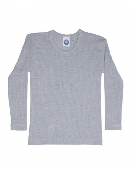 Cosilana Kids Longsleeve Wool/Silk/Cotton - Grey