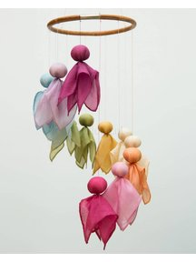 Filges Mobile with 12 silk fairies