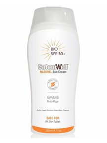 ColourWell Natural Sun Cream SPF 30 - 100ML
