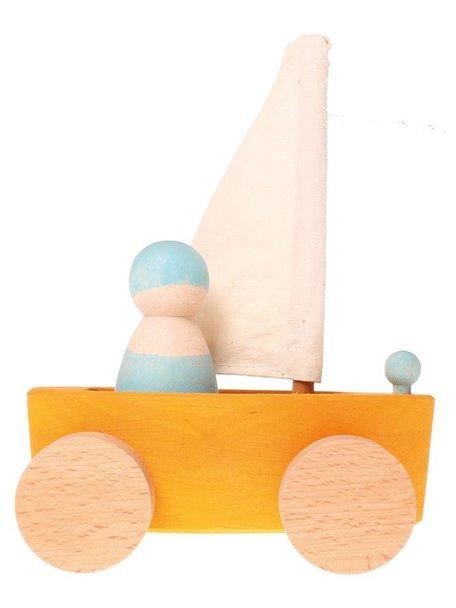 Grimm's Little Wooden Land Yachts