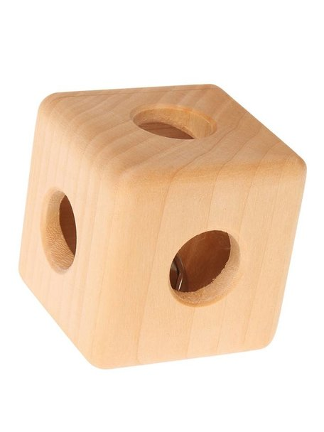 Grimm's Cube Rattle with Bell