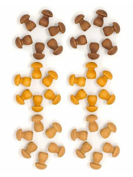 Grapat Mandala Little Mushroom Elements