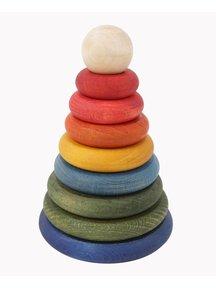 Wooden Story Rainbow Stacker
