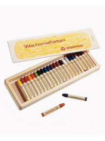 Stockmar Beeswax drawing sticks 24 pieces