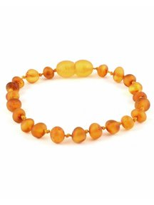 Amber Amber Baby Bracelet 14 cm - Honey Raw