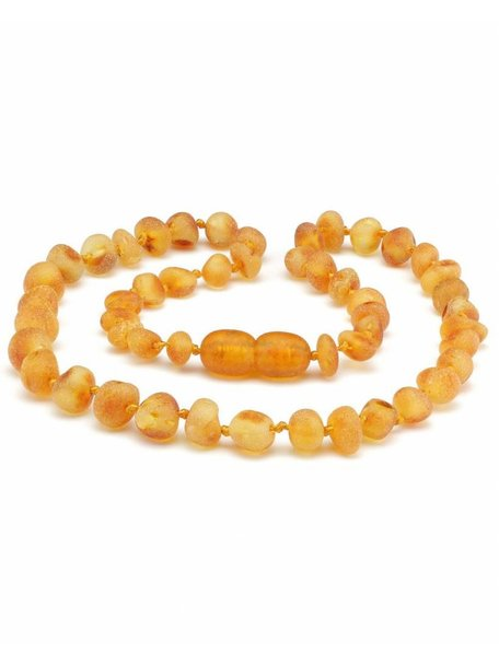Amber Amber Baby Necklace 32 cm - Honey Raw
