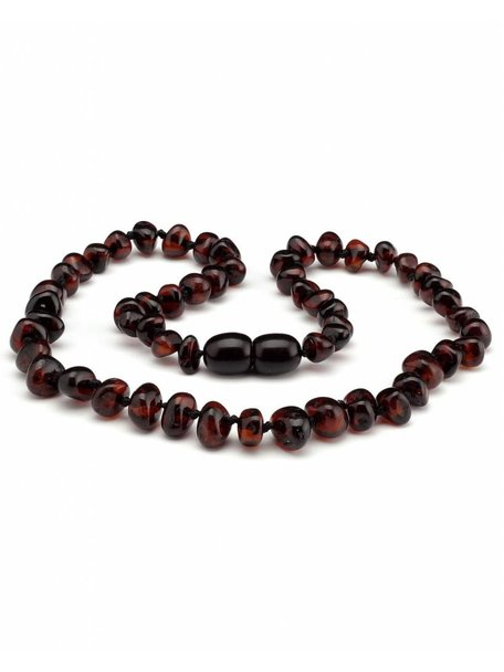 Amber Amber Kids Necklace 38 cm - Cherry