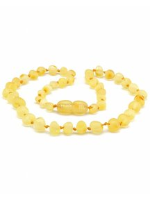 Amber Amber Kids Necklace 38 cm - Lemon Raw