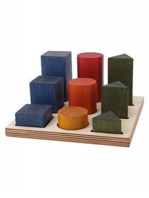 Wooden Story Rainbow Shape Sorter Box