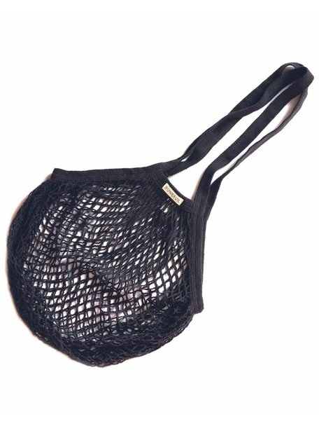 Bo Weevil Net Bag with Long Handles - Anthracite