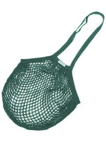 Bo Weevil Net Bag with Long Handles - Petrol