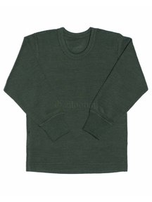 Ruskovilla Merino Wool Top - green