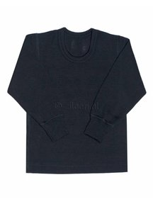 Ruskovilla Merino Wool Top - black