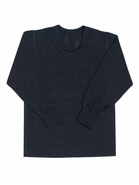 Ruskovilla Merino Wool Top - black
