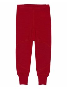 Ruskovilla Pants Organic Merino Wool - red