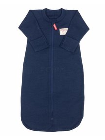 Ruskovilla Sleeping Bag Organic Merino Wool - navy