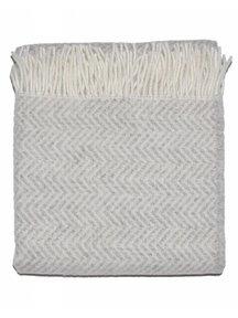 Mara Woolen Blanket 130 x 90 cm - Beige