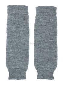 Hirsch Natur Leg Warmers for Kids - grey