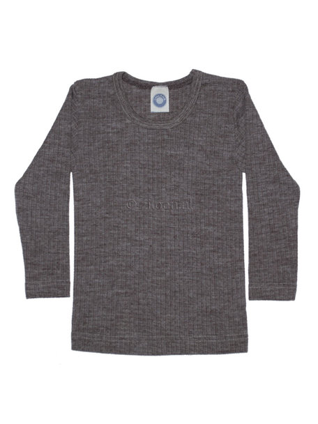 Cosilana Kids Longsleeve Wool/Silk/Cotton - brown