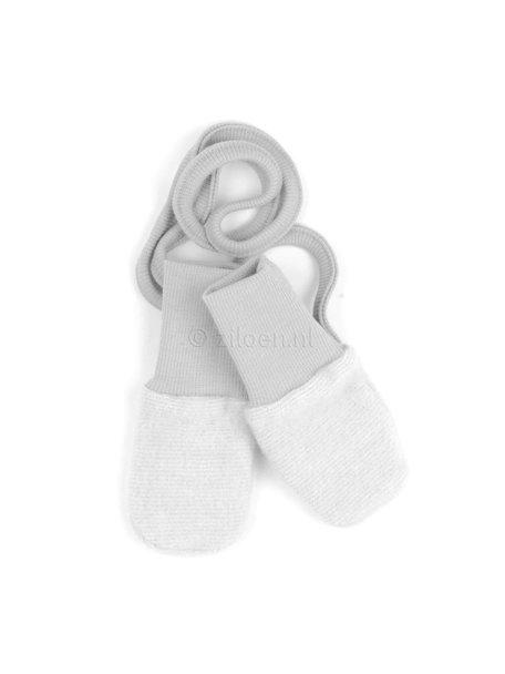 Cosilana Mittens Wool Fleece - Grey