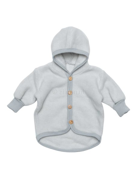 Cosilana Baby Jacket  Wool Fleece  - Grey