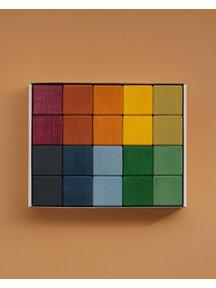 Raduga Grez Cubes set - earth colours