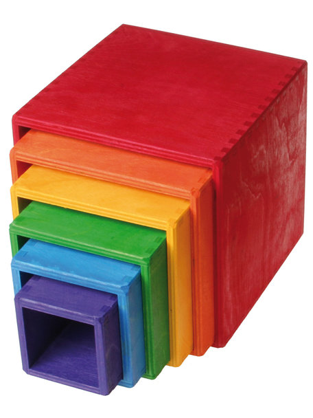 Grimm's Large Set of Boxes - Rainbow