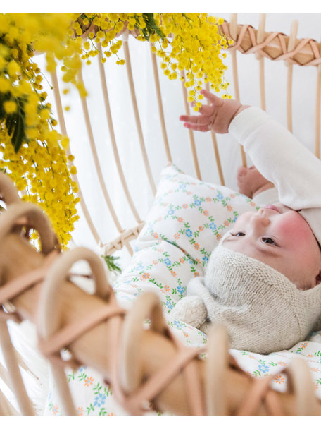 Bermbach Rattan Babycrib Lola