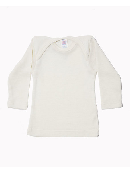 Engel Natur Baby Longsleeve Shirt Wool/Silk - Natural