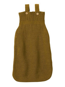 Disana Knitted Sleeping Bag Organic Wool - Gold