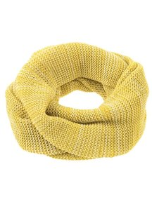 Disana Adult Loop Scarf Organic Merino Wool - Curry