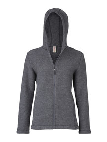 Engel Natur Jacket Women Wool Fleece - Grey
