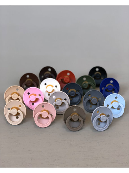 Bibs Pacifier Natural Rubber  - clear water
