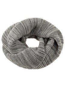 Disana Adult Loop Scarf Organic Merino Wool - Anthracite