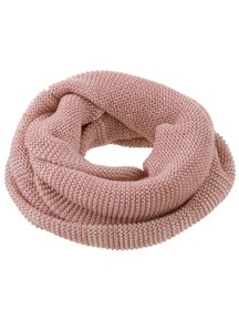Disana Adult Loop Scarf Organic Merino Wool - Rose