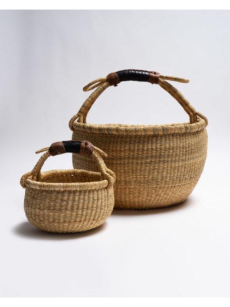 Fair Trade Handwoven Basket 35-40cm diameter