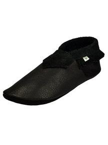 Pantolinos Moccasins for mom - black