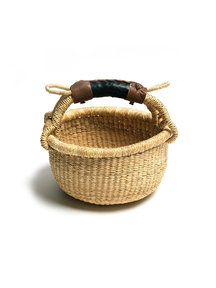 Fair Trade Handwoven Basket ø 15-20cm