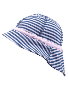 Joha Summer hat - pink striped