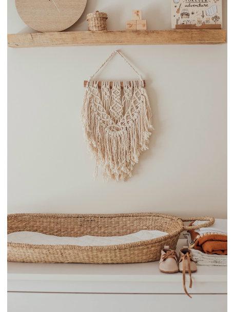 Olli Ella Insert for Changing Basket  - White