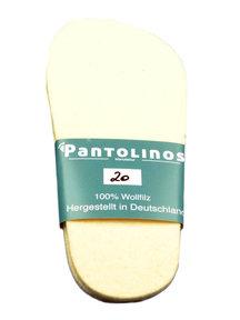 Pantolinos Wool felt Insooles
