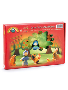 Ostheimer Easter set with diorama 7 pieces