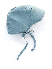 Briar Handmade Linen Brimmed Bonnet - Oasis