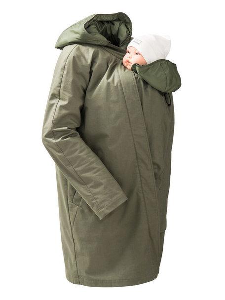 Mamalila Short Coat For Babywearing- khaki