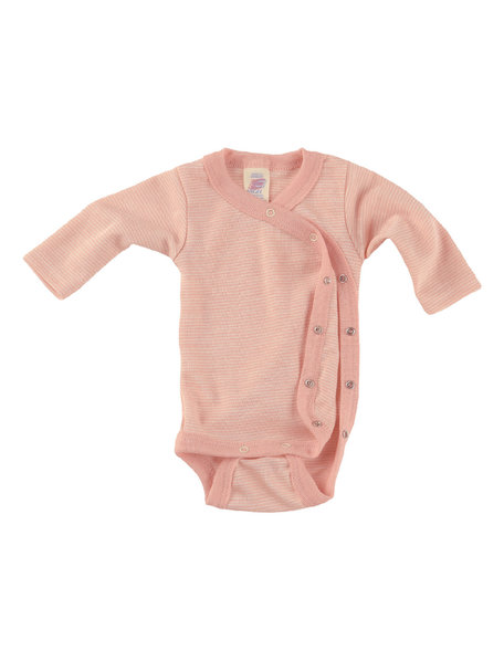 Engel Natur Premature Wrap Body Wool/Silk- Salmon
