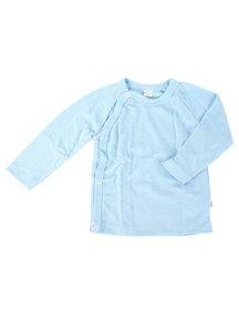 Popolini iobio Wrap Cardigan Wool/Silk - Blue