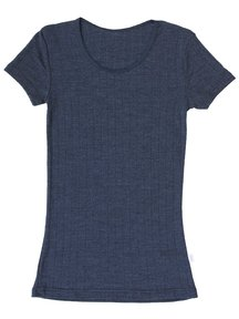 Joha T-Shirt Emily short sleeves wool/silk
