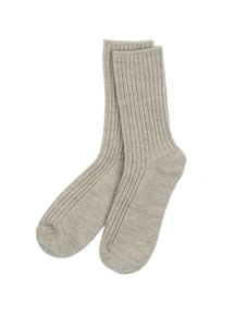 Joha Wool socks - Sesame