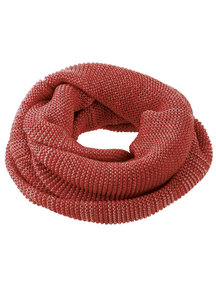 Disana Adult Loop Scarf Organic Merino Wool - Burgundy