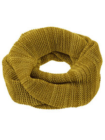 Disana Adult Loop Scarf Organic Merino Wool - Gold